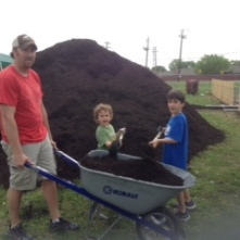 Moving mulch