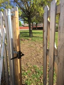 A new gate!